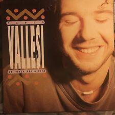 PAOLO VALLESI • La Forza Della Vita • Vinile Lp • 1992 SUGAR