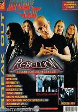 Magazin Break Out 3/2002,Rebellion,Blind Guardian,Nickelback,Nazareth,Iron Maide