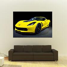 Chevy C7 Z06 Corvette Giant HD Poster Super Car Huge Print 54x36 Inches