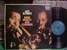 1958 BOBBY HACKETT & JACK TEAGARDEN LP JAZZ ULTIMATE CAPITOL HI-FI VG++