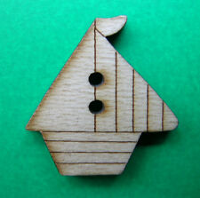 Wooden Boat pulsante (Qty-1) 30 mm