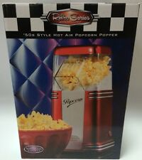 Nostalgia Retro Series 50's Style Hot Air Popcorn Popper Red Healthy! No Oil NEW
