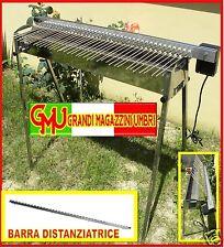 GIRARROSTO PER SPIEDINI T-40 ARROSTICINI GRILL GRIGLIATA CAMINO BARBECUE ARROSTO