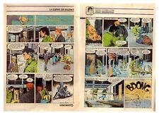 1984 (Ref T  479) : BOB MORANE LA GUERRE DES BALEINES   pl 8/9