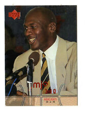 MICHAEL JORDAN NBA 1998 UPPER DECK MJX 3rd QUARTER HIGHLIGHTS #120 CHICAGO BULLS