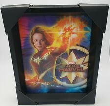 Captain Marvel Framed 3D Lenticular photo! Brand New! Sold out everywhere!!