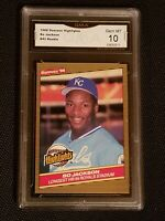 ** GEM MINT 10 ** 1986 Donruss Highlights #43 Bo Jackson  rookie Kansas city RC