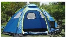 Sky Blue 6-9 Persons POP UP Family Outdoor Waterproof Beach Camping Hiking Tent