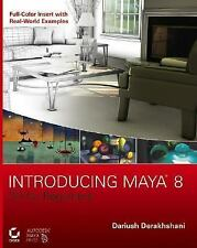 Introducing Maya 8: 3D for Beginners +CD-ExLibrary