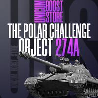World Of Tanks | Object 274a Marathon | Polar Challenge | WoT | Not bonus code