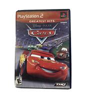 Disney Pixar Cars ~ PlayStation 2 PS2 Black Label ~ Complete TESTED ~