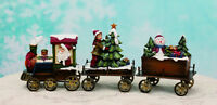 Resin Metal Christmas Train Santa Tree Snowman Figurine