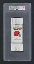 1986 AFC Championship Denver Broncos The Drive Full Ticket John Elway RC PSA 9