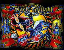 Black Knight 2000 Complete Led Lighting Kit custom Super Bright Pinball Led Kit