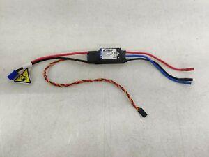 Eflite 50-Amp Switch-Mode BEC Brushless ESC with EC3 Plugs EFLA1050