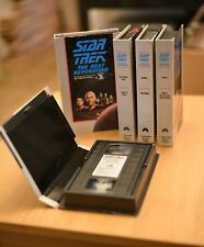 5 Star Trek Next Generation VHS Collector's Edition VHS Outpost Haven Justice +