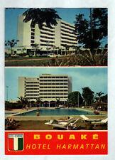 """BOUAKE (COTE D'IVOIRE) HOTEL """"HARMATTAN"""" & PISCINE animée en 1979"""