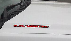 5.3L VORTEC Hood Vinyl Decal fits: Chevrolet Silverado GMC Sierra (Outlined)