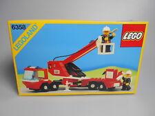 LEGO® Legoland Town Classic Set 6358 Feuerwehr Neu  Selten!