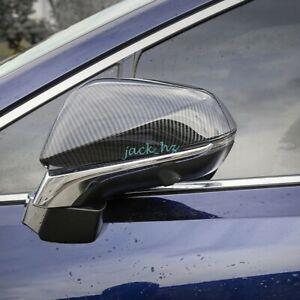 Car Carbon Fiber Rearview Mirror Cover Trim For Lexus NX200t NX300h RX350 RX450h
