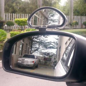1x Car Truck Side Blindspot Blind Wide Angle View Mirror Accessories Adjustable