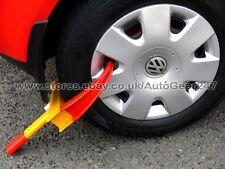 Car Van Caravan Trailer Motorhome Easy Fit Claw Steel Wheel Tyre Clamp Lock