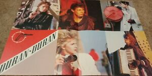 DURAN DURAN CENTERFOLD CLIPPING CUTTING FROM MAGAZINE 80'S A VIEW TO A KILL