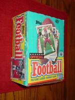 1989 Topps Football Wax Box - 36 Packs (NFL) Rookies - T.Thomas M.Irvin Ickey+++