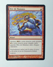 CARTE MTG MAGIC - VERSION FRANCAISE RITE DE FLAMMES