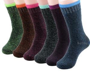 2 Pairs Ladies Thermal Socks Winter Socks Soft Edge Extra Warm Blue 35 to 42