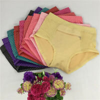 Women Ladies Panties Briefs Pocket Zipper Underwear Comfortable Panties 1PC