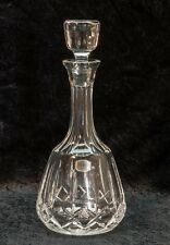 Atlantis Deep Cut Crystal Decanter Wine Charters Pattern Arches and Diamonds