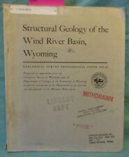 Oil, Gas, Petroleum: Structural Geology of the Wind River Basin, Wyoming