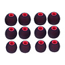 Sunmns 6 Pairs Silicone Eartips Eargels Earpads Ear Tips Gels Bud Compatible for