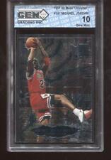 Michael Jordan 1997-98 Metal Universe #241 Metal Shredders GEM MINT 10