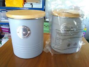 2 Typhoon Tea and Sugar Storage Caddies Living Range / Unused