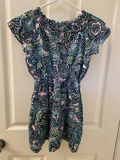 Lilly Pulitzer Dress Master of The House Sabine Jaguar Pockets Girls Size 7