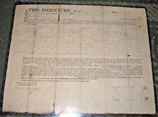 1804 INDENTURE - POUGHKEEPSIE DUTCHESS NY - PATRIOT GILBERT LIVINGSTON SIGNED