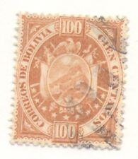 Bolivia #46, Used, Scott $40.00
