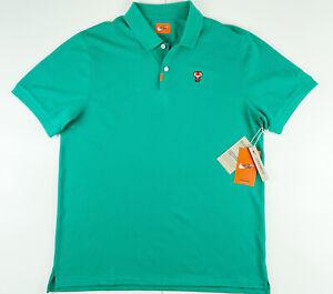 "Nike Tiger Woods TW ""FRANK"" Masters Polo Golf Shirt CJ0880-370 Large"