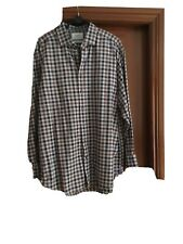 Charles Tyrwhitt Mens Cotton Checked Shirt Collar 17.5 Inches , Sleeve 35 Inches