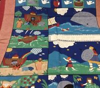 NOAH'S ARK #5418 QUILT PANEL OR WALL HANGING BY FABRIC TRADITIONS 36H X44W