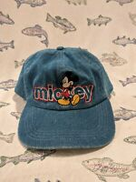 Vintage 90s Mickey Mouse Denim Hat Mickey Unlimited Spell Out Hat
