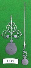 Orologio Antico le mani dal design originale (inizio Longcase) LC26 * Made in England *