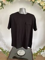 Another Influence T Shirt Top Tee Size UK 4XL Black Pocket Cotton Top New HJ101
