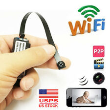 wireless network WIFI IP HD mini DIY spy hidden pinhole camera video dvr record