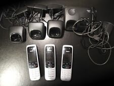 Gigaset C430A Trio Schnurlos Telefon-Set - (L36852-H2522-B111)