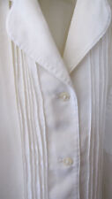 A Vintage White Blouse by Cacharel, Women's Size Large