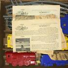 VINTAGE SCHILLING ELECTRIC TRAIN SET #700 TRACK POWER BOX BATTERY OPERATED NICE