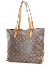 Authentic LOUIS VUITTON Cabas Mezzo Monogram Shoulder Tote Bag Purse #37369